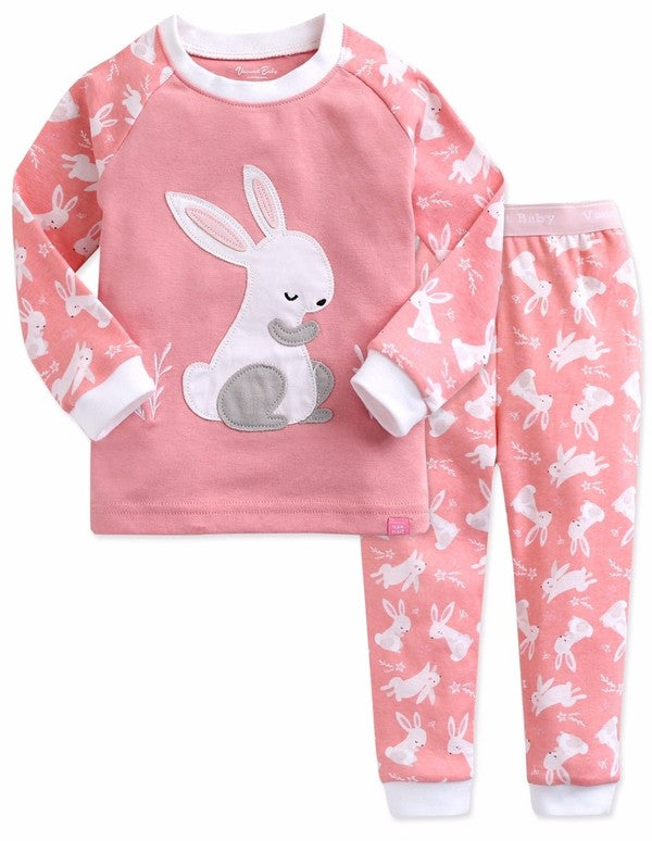 Heeling Rabbit Long Sleeve Pajama Set