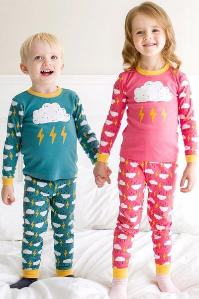 Thunder Long Sleeve Pajama Set