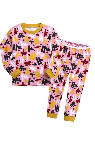 Hanguel Long Sleeve Pajama Set