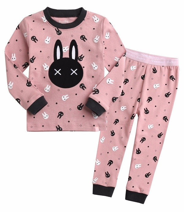 Rabbit Long Sleeve Pajama Set