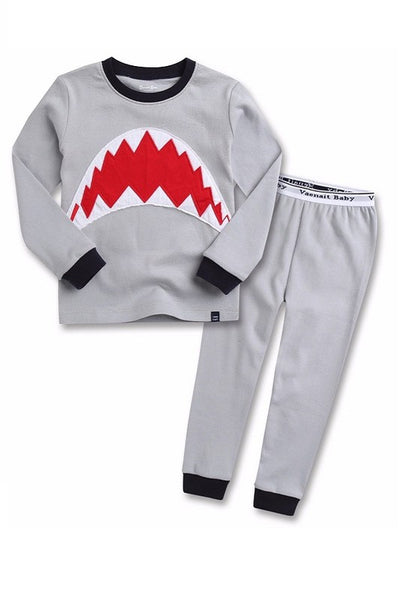 Jaws Long Sleeve Pajama Set