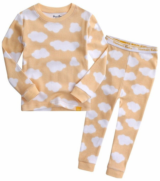 Cloud Long Sleeve Pajama Set
