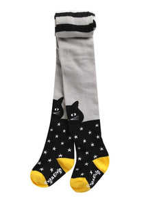 Chloe Cat Footed Tights