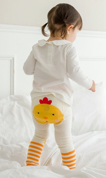 Yellow Chicky Leggings