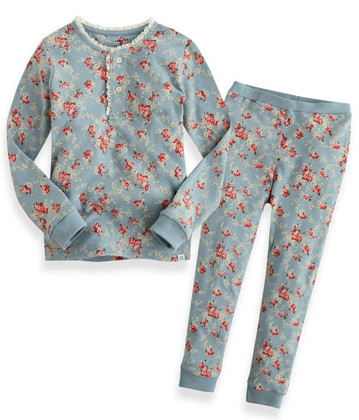 Floral Long Sleeve Pajama Set