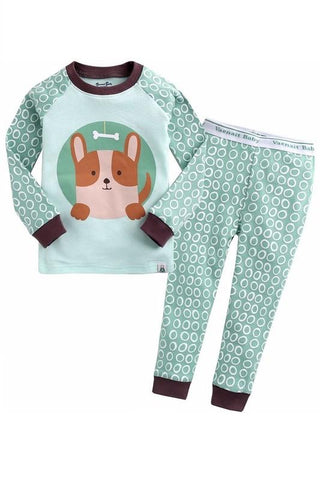 Animal Snack Long Sleeve Pajama Set