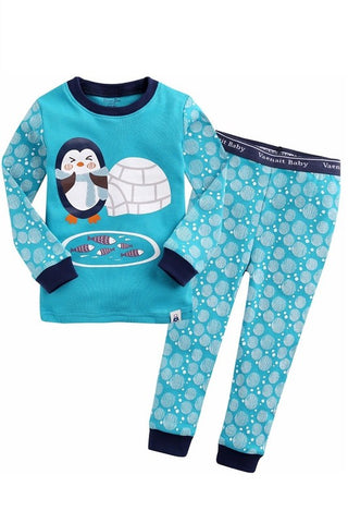 Igloo Penguin Long Sleeve Pajama Set