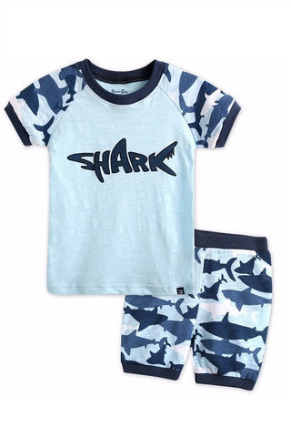 Shark Boy Pajama Set