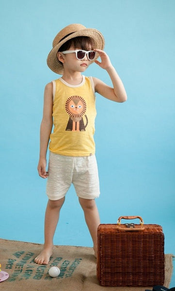 Lion Sleeveless Pajama Set