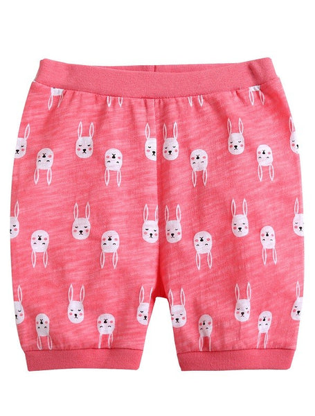 Rabbit Sleeveless Pajama Set