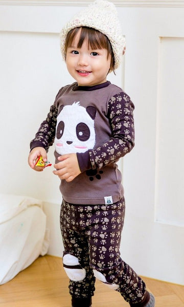 Panda Long Sleeve Pajama Set