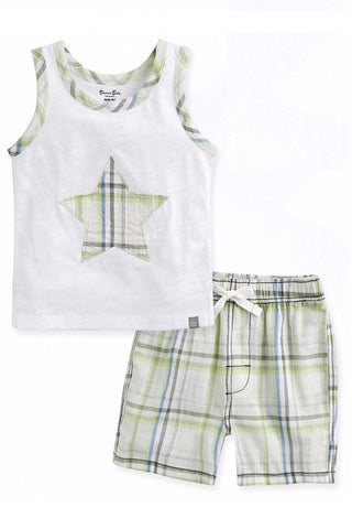 Sleeveless Starlit Top & Shorts Set