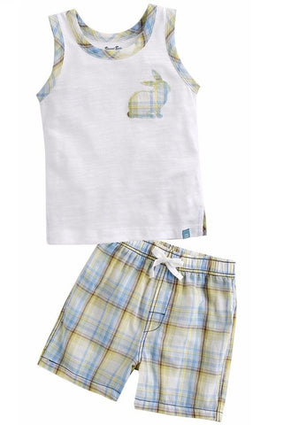 Sleeveless Rabbit Top & Shorts Set