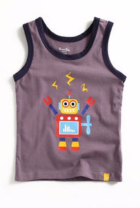 Mega Robot Sleeveless Tank Top