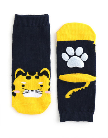 Cheetah Ankle Socks