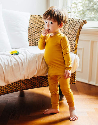 Modal Long Sleeve Pajama Set