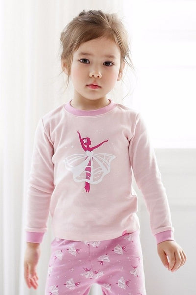 Ballerina Long Sleeve Pajama Set