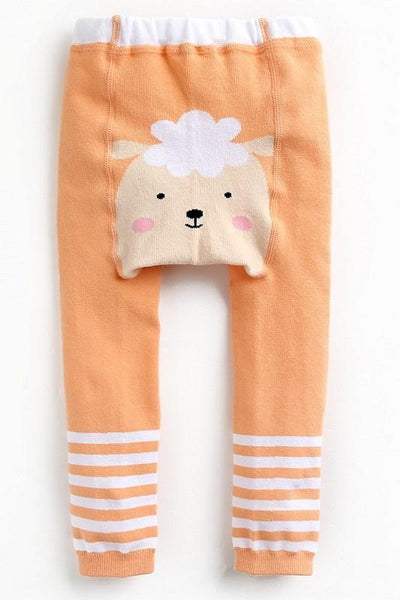 3 Pack Baby Footless Leggings