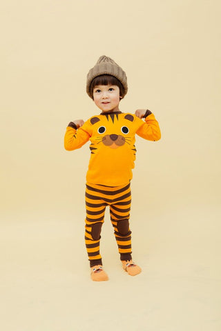 Tiger Long Sleeve Pajama Set