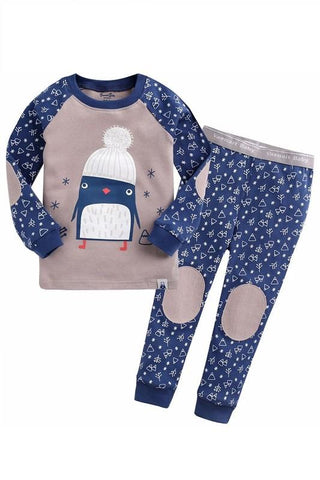 Chilly Animals Long Sleeve Pajama Set