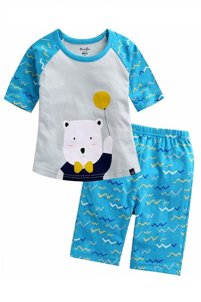 Bear Short Sleeve Pajama Set