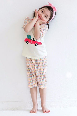 Vroom Penguin Pajama Set