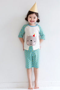 Birthday Cat Pajama Set