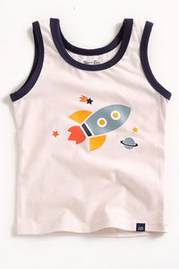 Rocket Shoot Sleeveless Tank Top