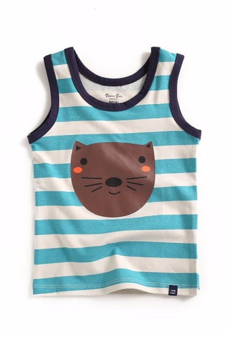 Cat Sleeveless Tank Top