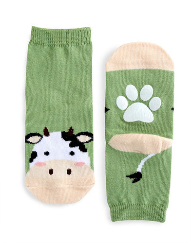 Cow Ankle Socks