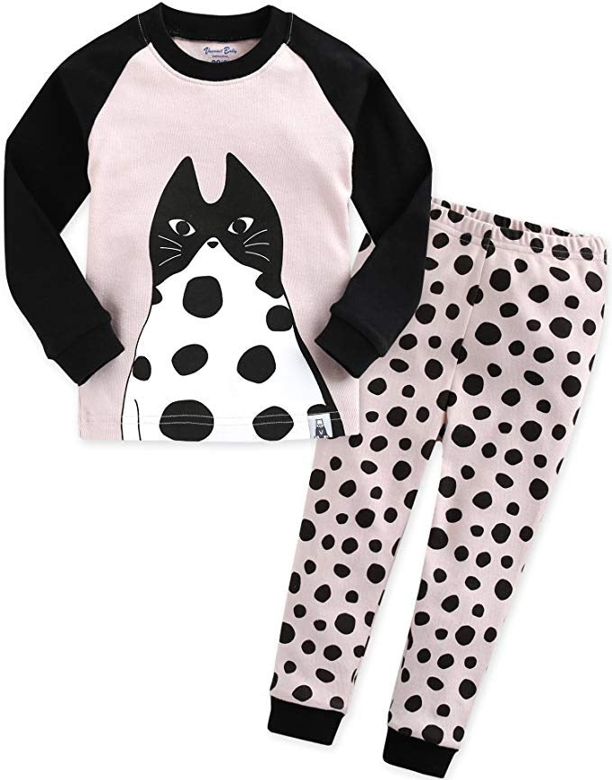 Chic Kitty Long Sleeve Pajama Set