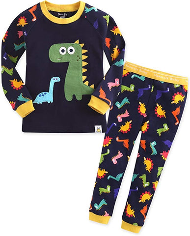 Buddy Dino Long Sleeve Pajama Set