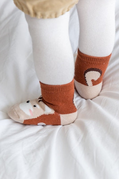 Squirrel Ankle Socks
