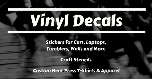FinelineFX - Vinyl Decals Stickers, Car Decals, Decals for Cars, Laptops, Tumblers, Walls and More