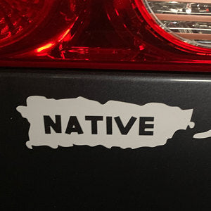 Puerto Rico Native Decal