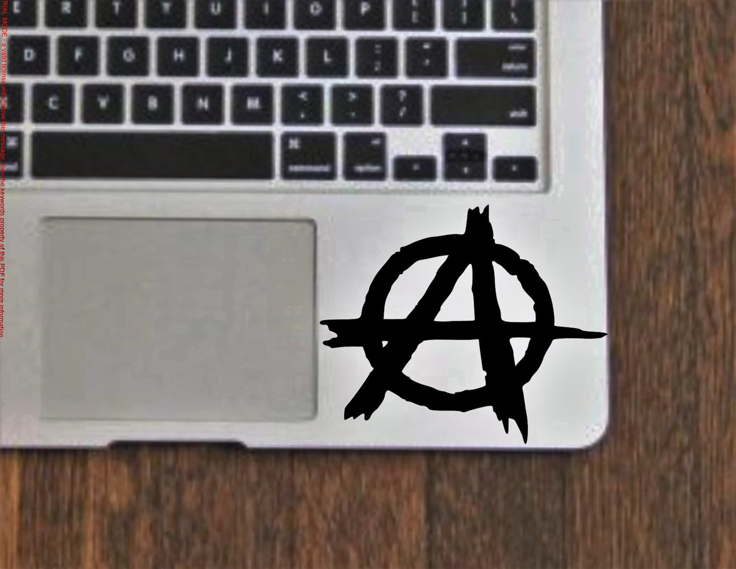 Anarchy Symbol Vinyl Decal Sticker