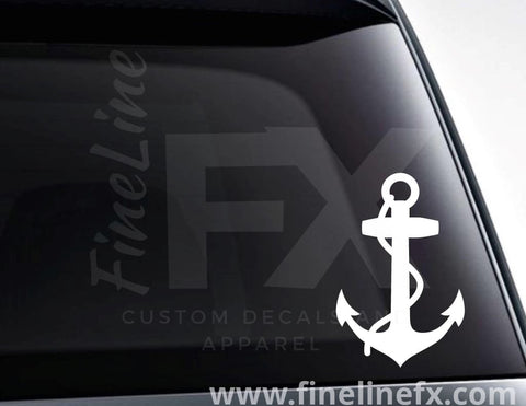 Boat Anchor Nautical Decal Sticker