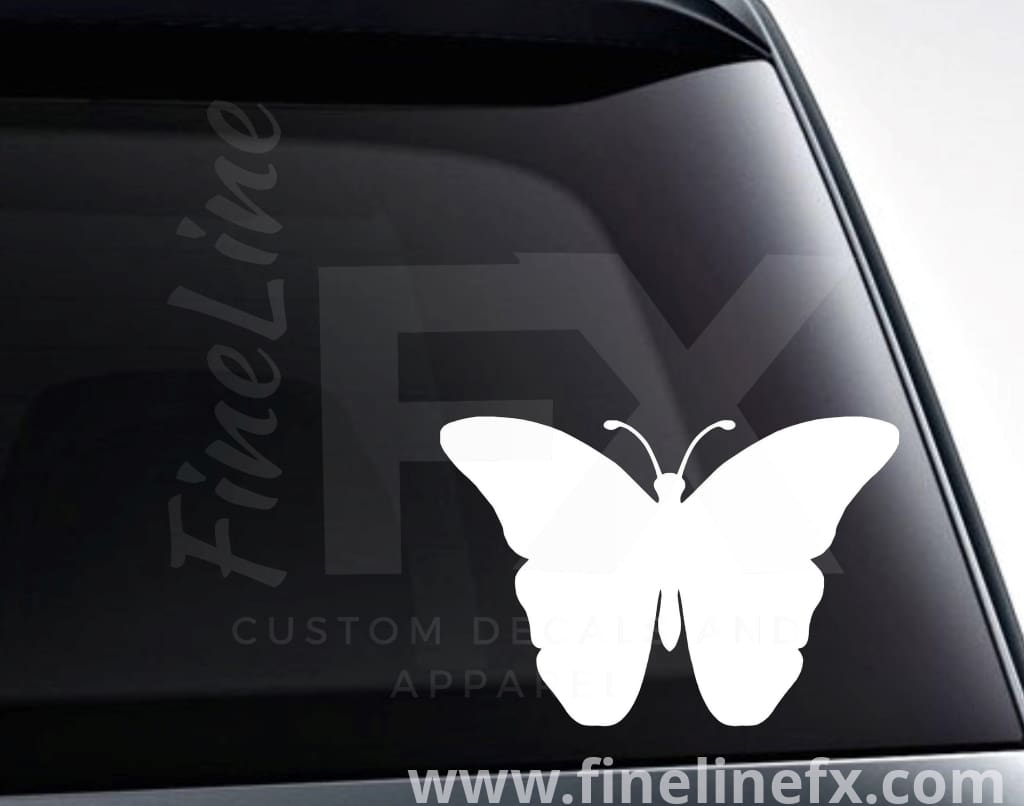 Butterfly Silhouette Vinyl Decal Sticker