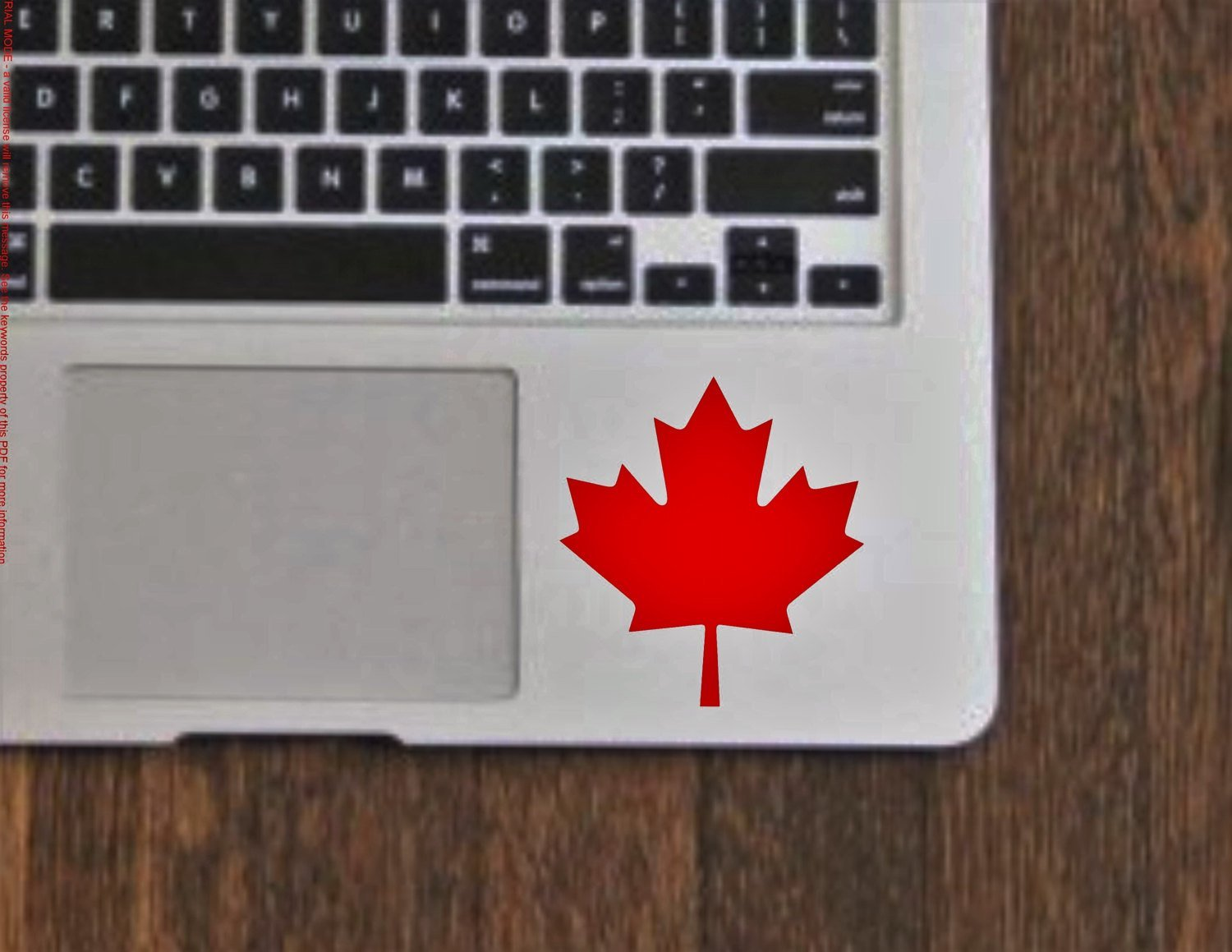 Canada Maple Leaf Vinyl Decal Sticker