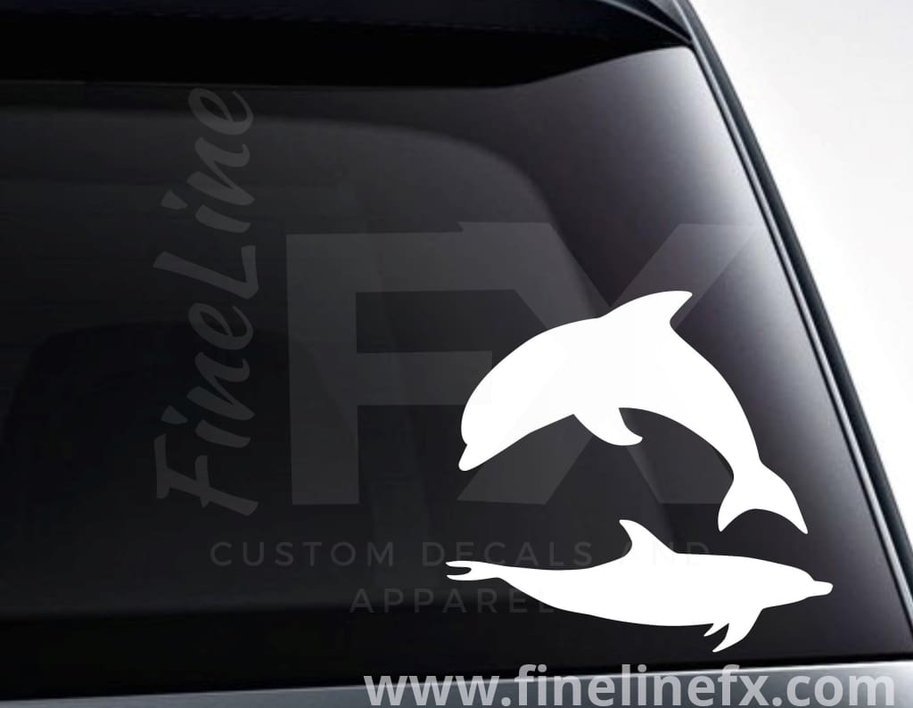 Dolphin Vinyl Decal Sticker