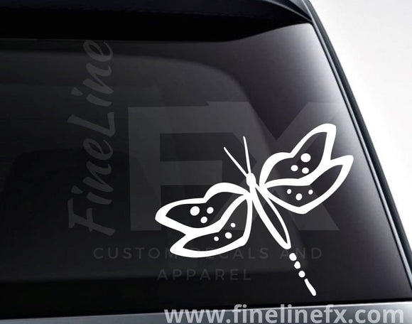 Dragonfly Vinyl Decal Sticker - FineLineFX