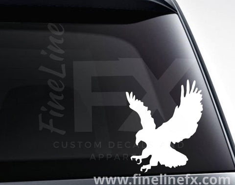 Eagle Silhouette Vinyl Decal Sticker