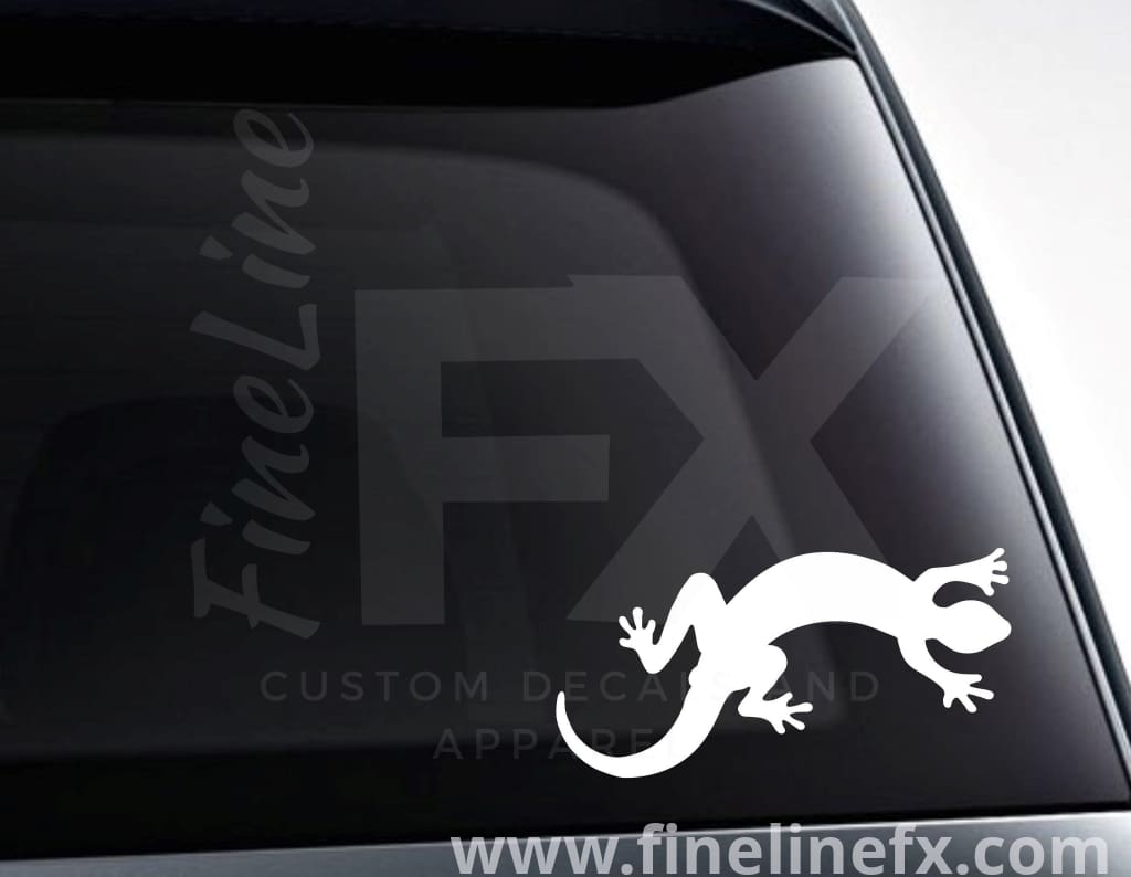 Gecko Lizard Vinyl Decal Sticker