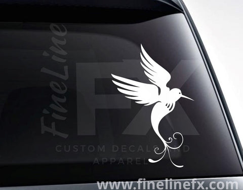 Hummingbird Nature Vinyl Decal Sticker