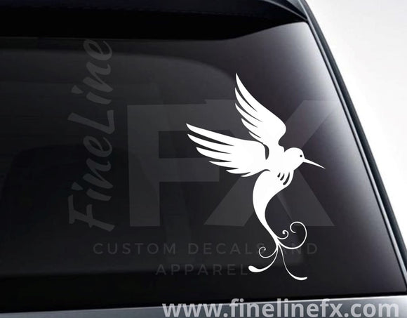 Hummingbird Nature Vinyl Decal Sticker - FineLineFX