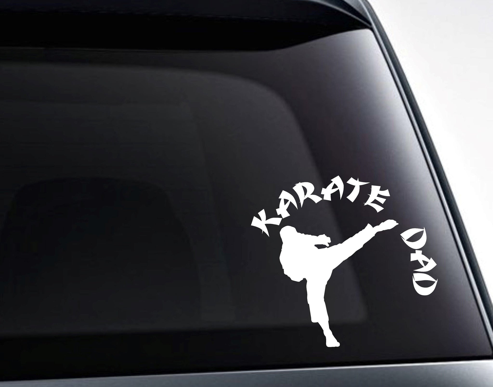 Karate Dad Martial Arts Vinyl Decal Sticker