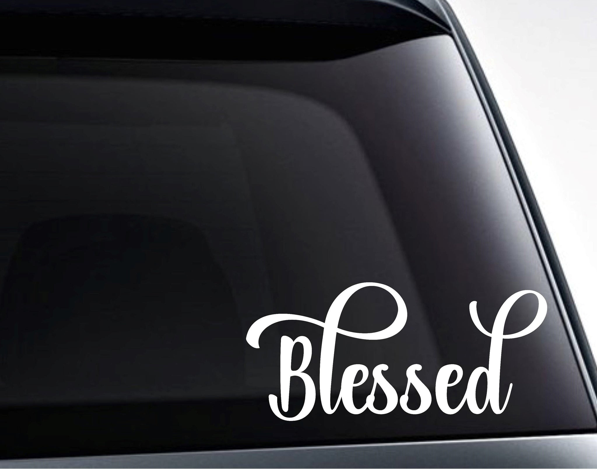 Blessed Vinyl Decal Sticker