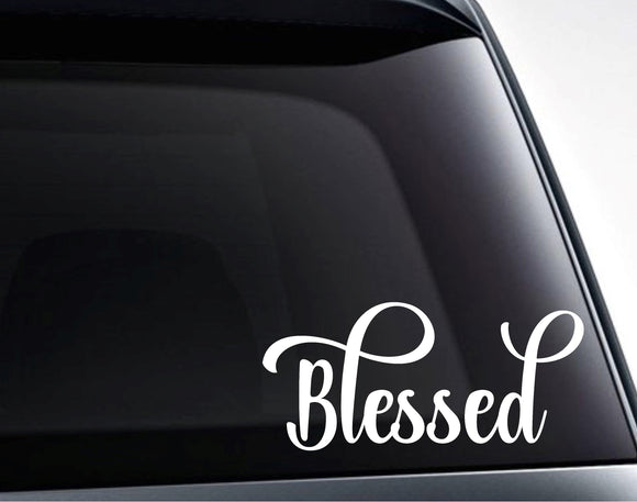 Blessed Vinyl Decal Sticker - FineLineFX