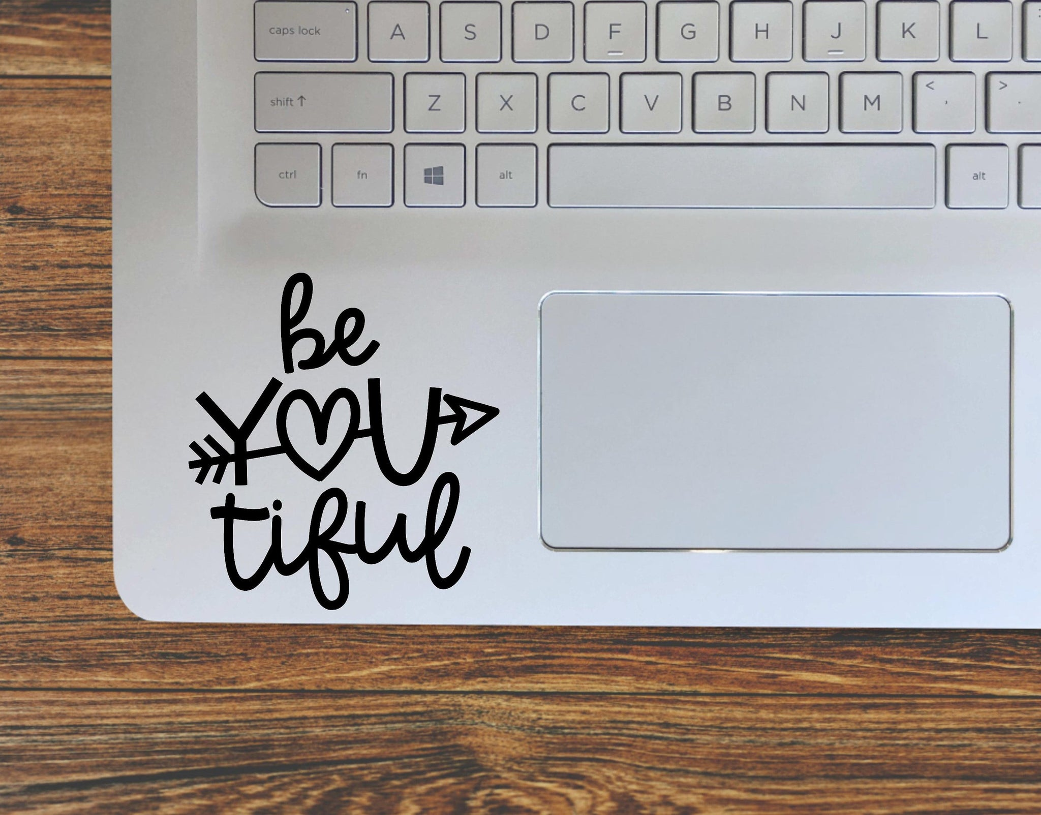 Be You Tiful Beautiful Inspirational Vinyl Decal Sticker