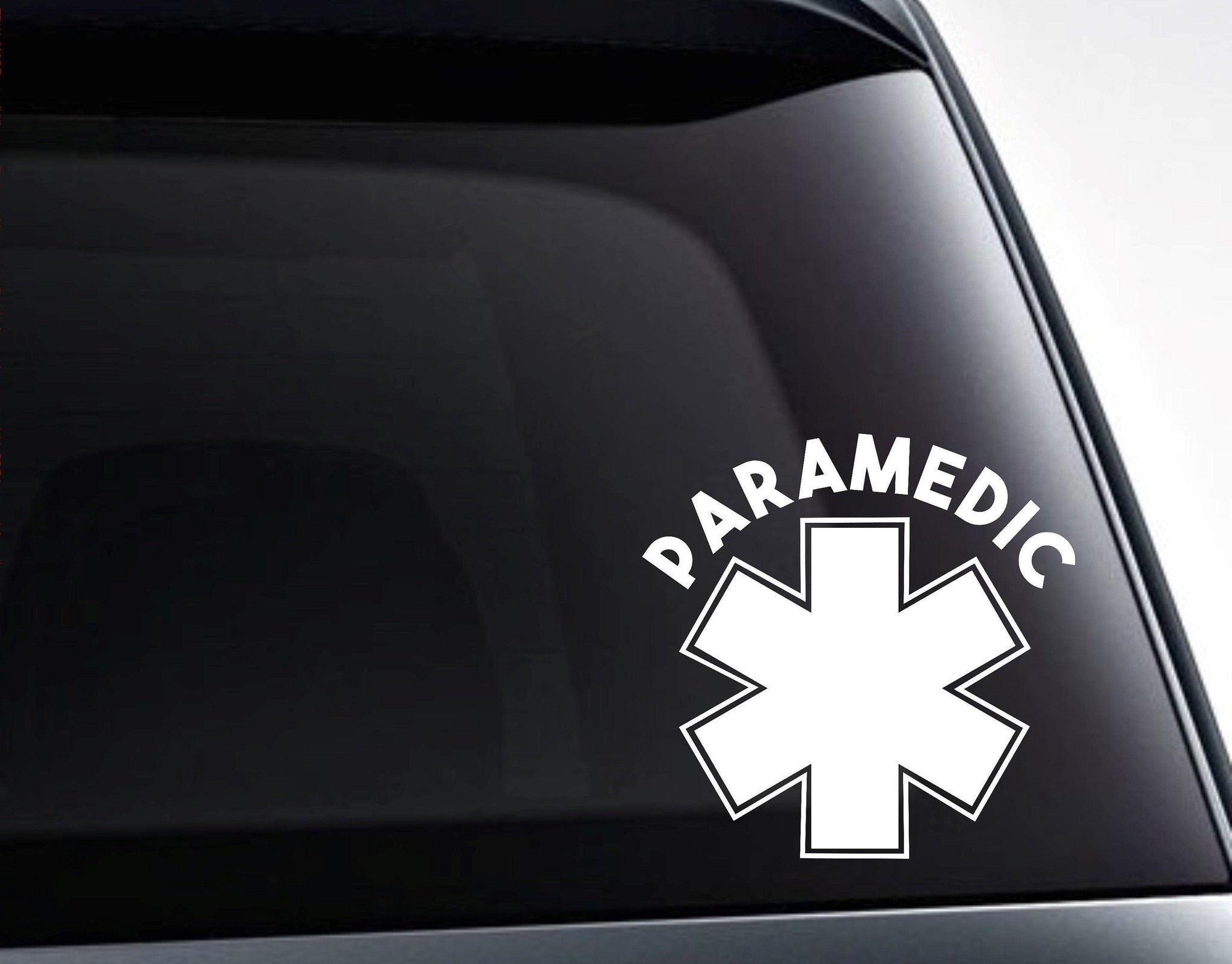 Paramedic Ambulance EMT Vinyl Decal Sticker